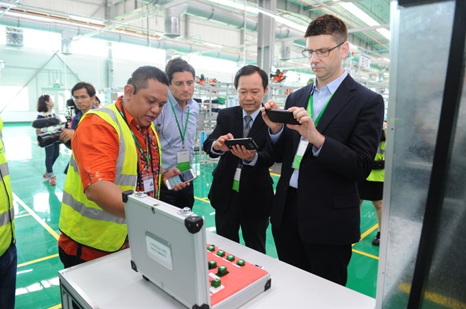 Schneider Electric inaugurates 45 million factory in HCM City