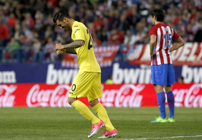 Soriano hands Villarreal shock win at Atletico