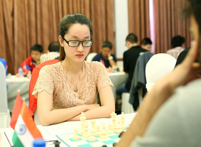 Vietnamese Phụng wins Asian chess championship title