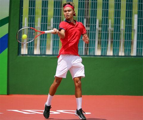 Nam Linh to play tennis at Singapore Futures