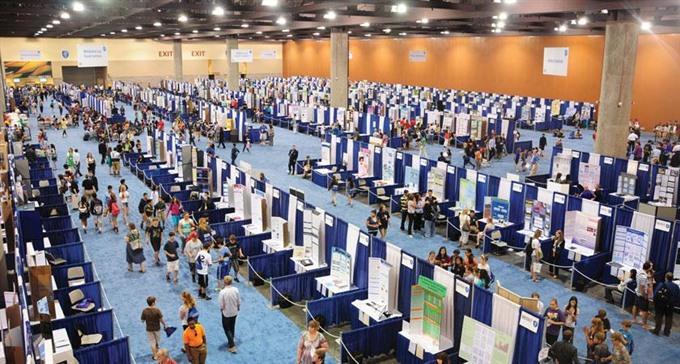 Việt Nam ranks third at international science fair