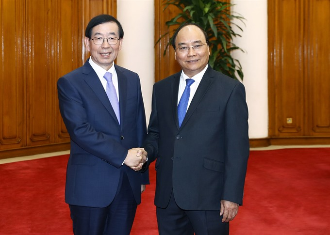 President receives Special Envoy of RoK President
