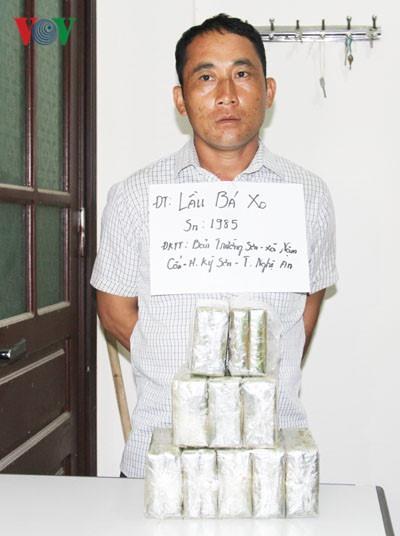 Police arrest drug traffickers