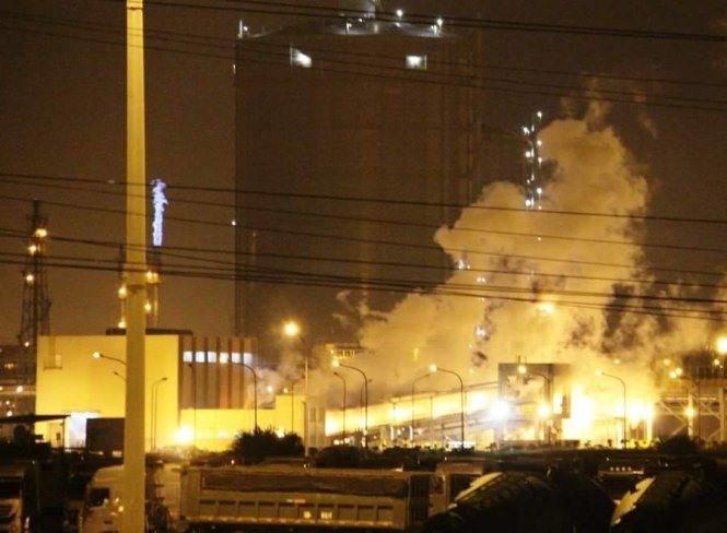 VN inspects Formosa kiln explosion