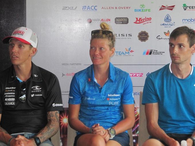 Aussie Hungarian win Ironman 70.3 Việt Nam