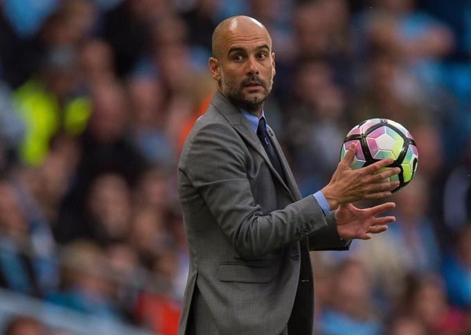 City set Guardiola treble target