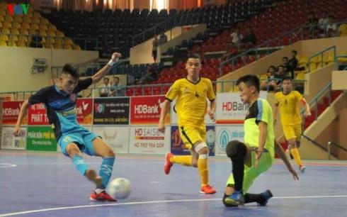 Khánh Hòa beat Cao Bằng at futsal champs