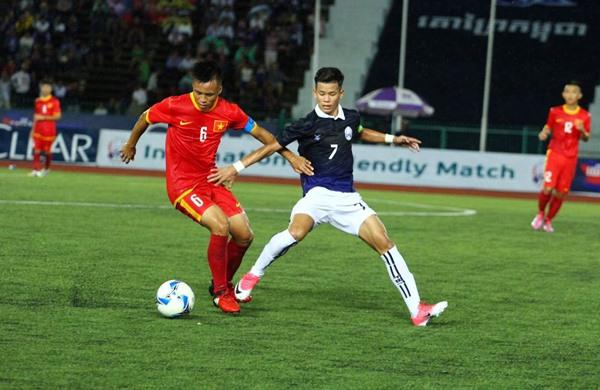 Việt Nam beat Cambodia in friendly match