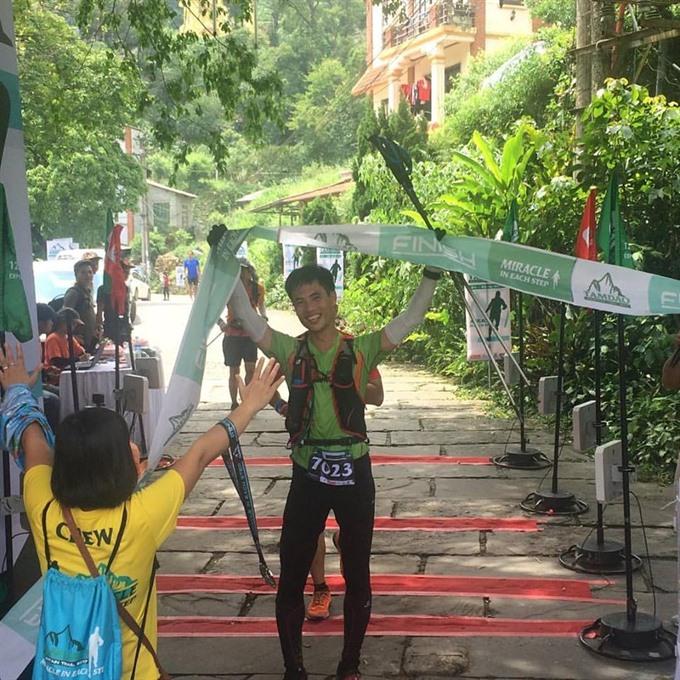 Ong Soon Seng wins Tam Đảo Mountain Trail