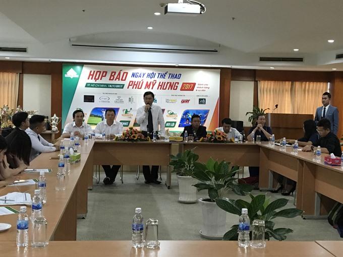 Phú Mỹ Hưng Sports Day on Saturday