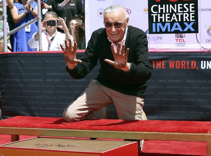 Hollywood honours Marvel Comics legend Stan Lee