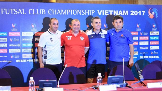 Thái Sơn Nam target to enter AFC futsal events quarter-finals