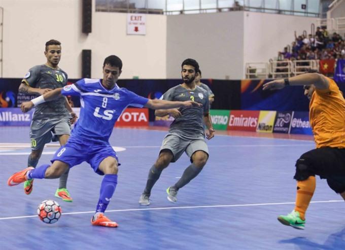 Thái Sơn Nam qualify for quarter-finals