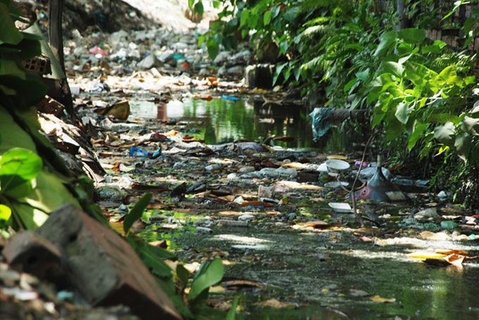 HCMC to spend 1.9 million on drainage