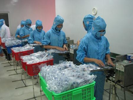 Mediplasts injection needle factory starts operation