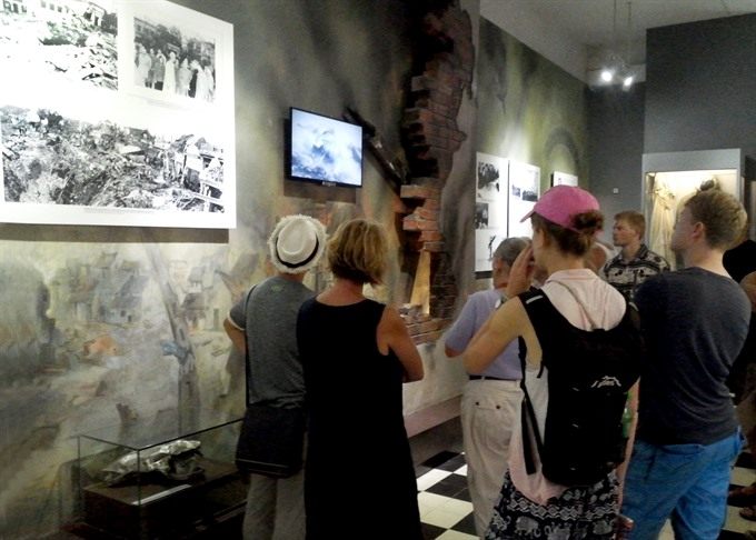 Exhibition commemorates National War Invalids and Martyrs Day