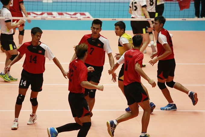Việt Nam rank 10th in Asian volleyball tournament