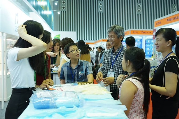 Medi Pharm Expo opens in HCM City