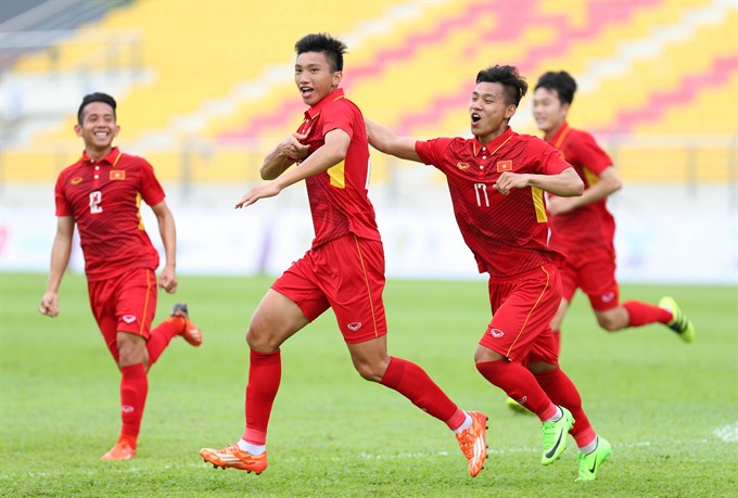 Việt Nam win 4-0 in SEA Games opener