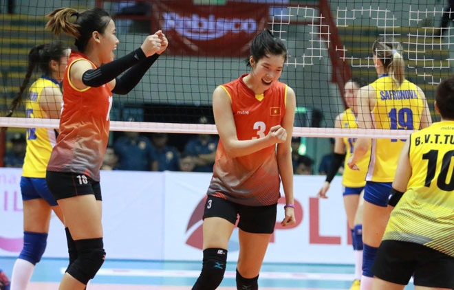 Việt Nam beat Kazakhstan at Asian volleyball event