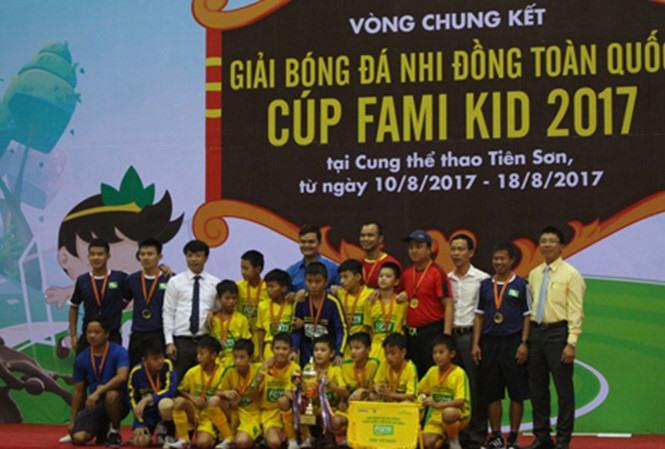 SLNA wins childrens football event