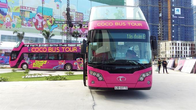 Central city begins open-top bus tours