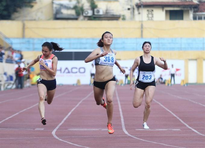 VNs Chinh eyes ASEAN sprint titles