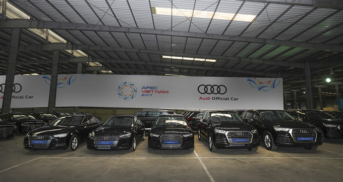 Audi Vietnam sends 258 units for APEC event