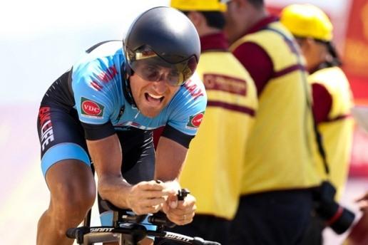 Cyclist Desriac seizes yellow jersey