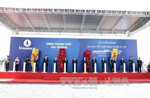 Work starts on first Vietnamese automobile manufacturing complex