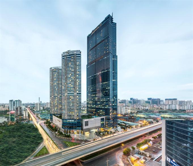 IHG opens Việt Nams highest hotel in Hà Nội