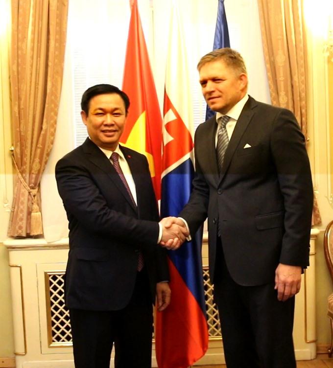 Deputy PM asks Slovakia to promote VN-EU ties