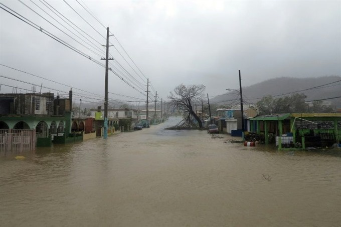Puerto Rico faces more floods after Maria obliteration