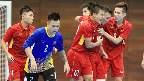 Việt Nam beat Turkmenistan for futsal quarter-final berth