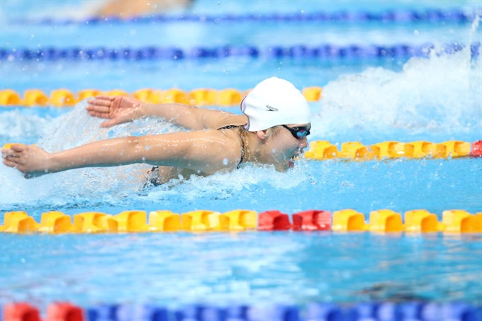 Viên won another gold breaking AIMAG record