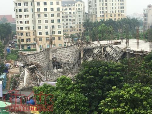 Kindergarten collapses in capital city