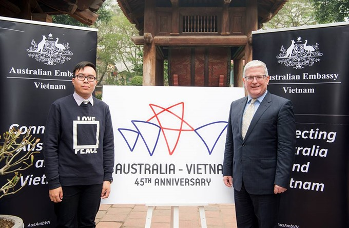 Australia VN launch 45th anniversary celebration
