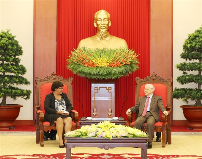Party chief: Việt Nam supports Cubas revolutionary cause