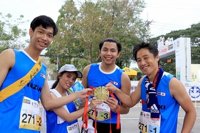 Run of Kizuna Ekiden Hà Nội 2018 to start