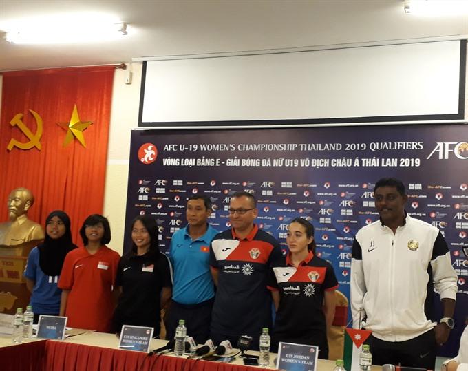 U19 teams set for group openers