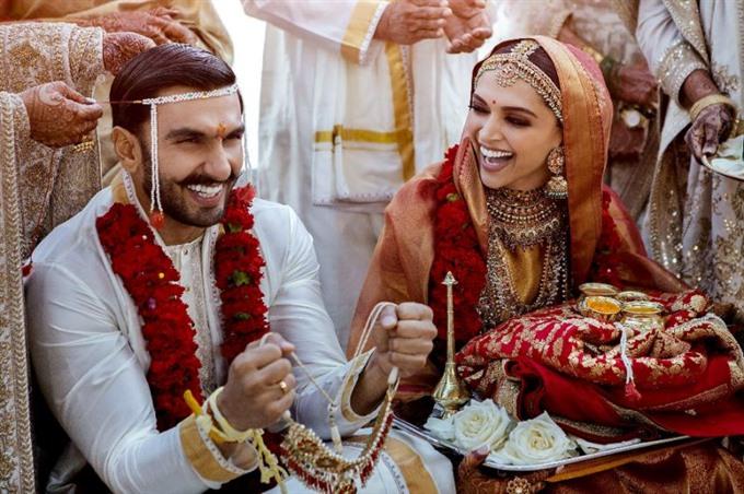 Bollywood stars Padukone Singh wed in Italy