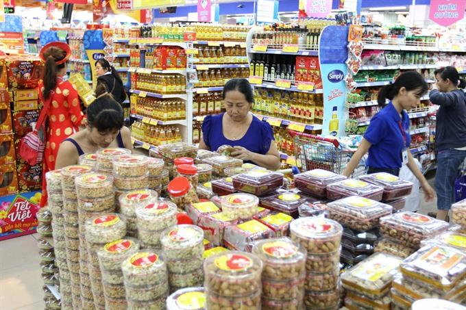 Hà Nội HCM City spend VNĐ47 trillion for Tết goods