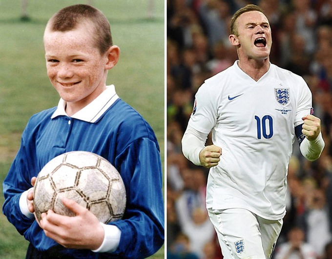 Wayne Rooney – a natural born winner