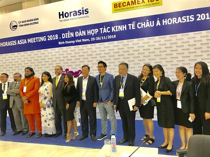 Horasis Asia Meeting 2018 opens in Bình Dương