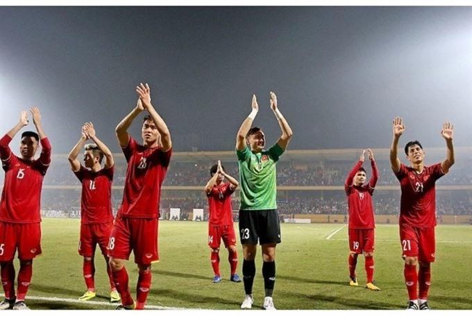 National team receive big bonuses for AFF Cup success