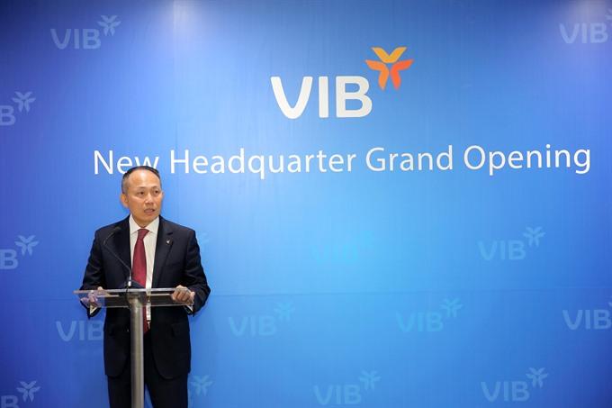 VIB relocates headquarters to HCM City