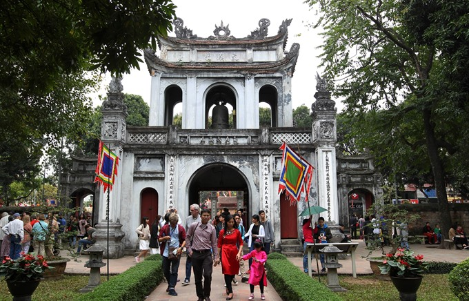 Almost 375,000 tourists visit Hà Nội during Tết holidays