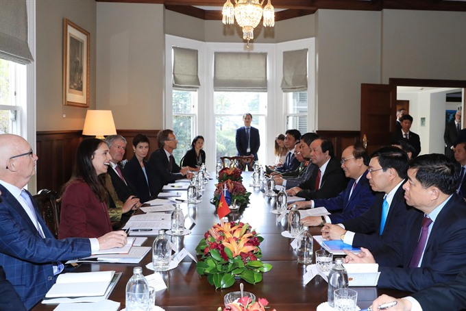 Việt Nam New Zealand agree to boost all-round co-operation