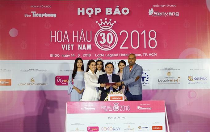 Vietjet continues to sponsor Miss Vietnam 2018