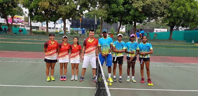 Việt Nam lose in junior Davis and Fed cups